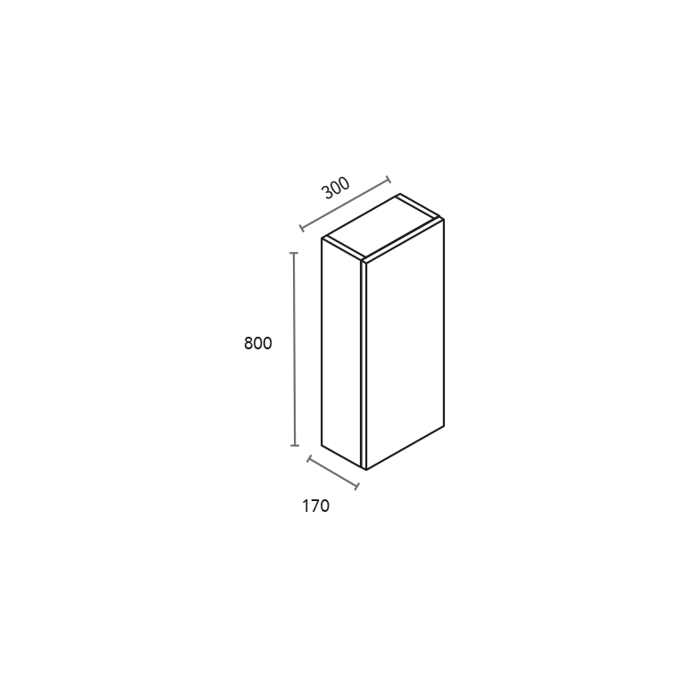 Módulo de 1 puerta