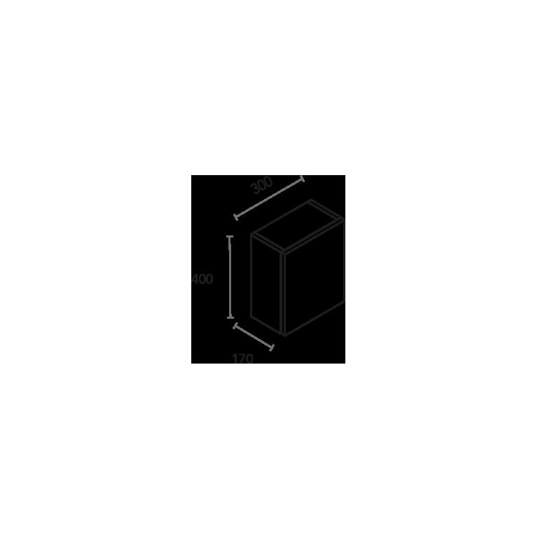 Módulo cubo de 1 puerta