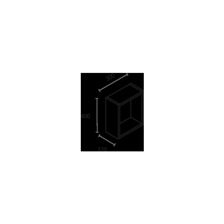 Módulo cubo de 1 hueco