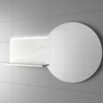 Espejo CLOCKS izquierdo y derecho con repisa a medida