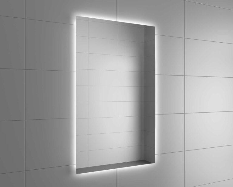 Espejo de baño a medida Rectangular ONTARIO